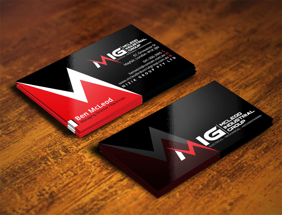 Elegant, Professional Business Card Design for Kristy Miller by ...