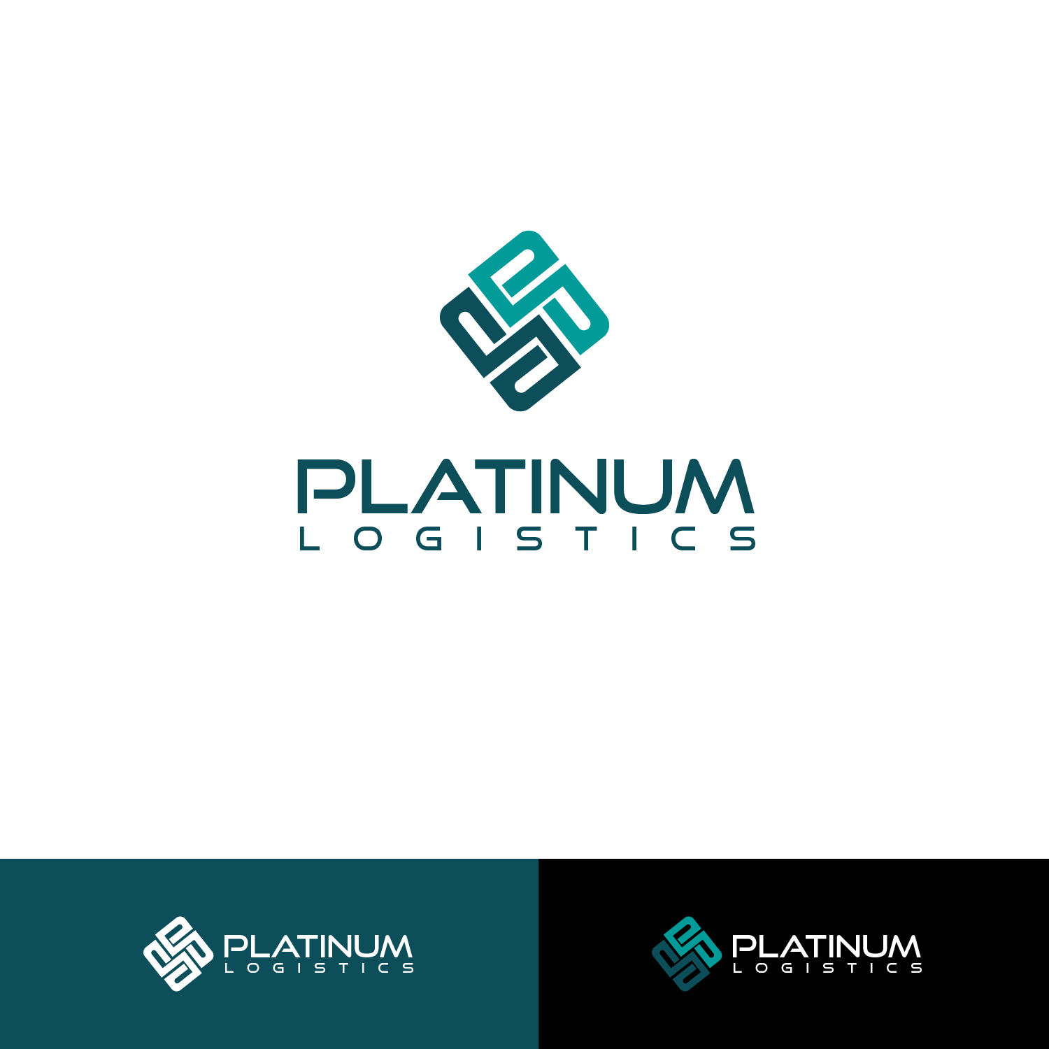 Modern professional logo design for platinum logistics for Design company