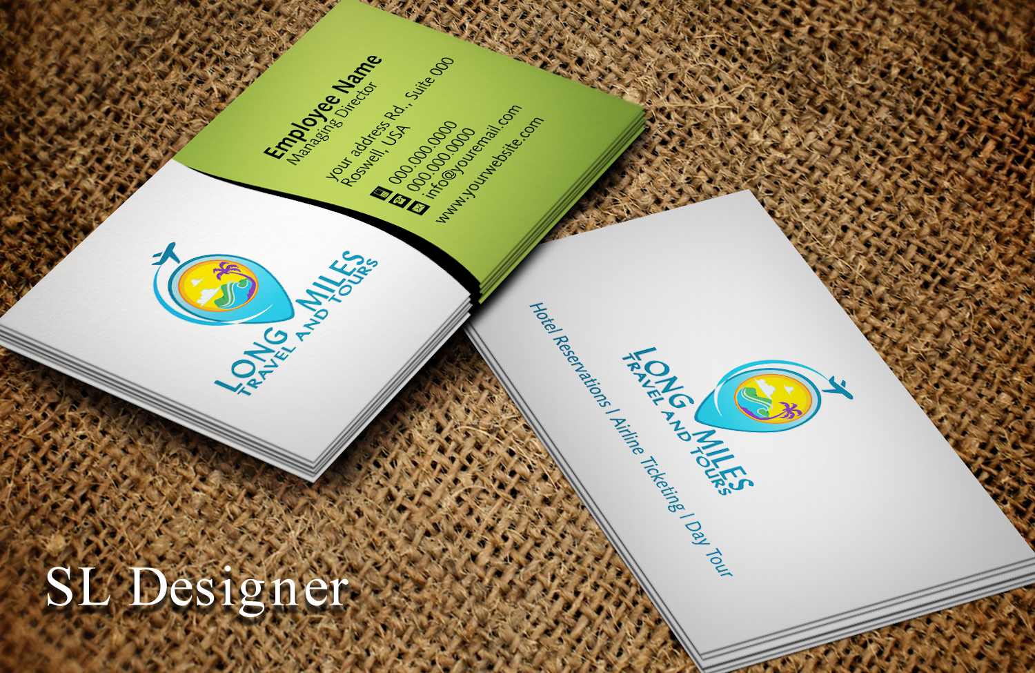 Tours Travels Business Card Design Image collections - Business Card ...