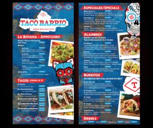 25 bold menu designs mexican restaurant menu design project for a