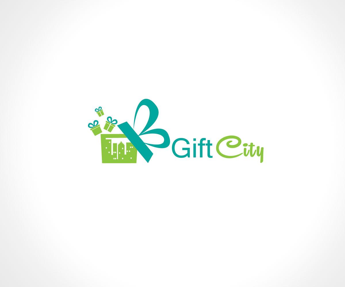 Character Design Job Singapore : Modern playful digital logo design for giftcity or