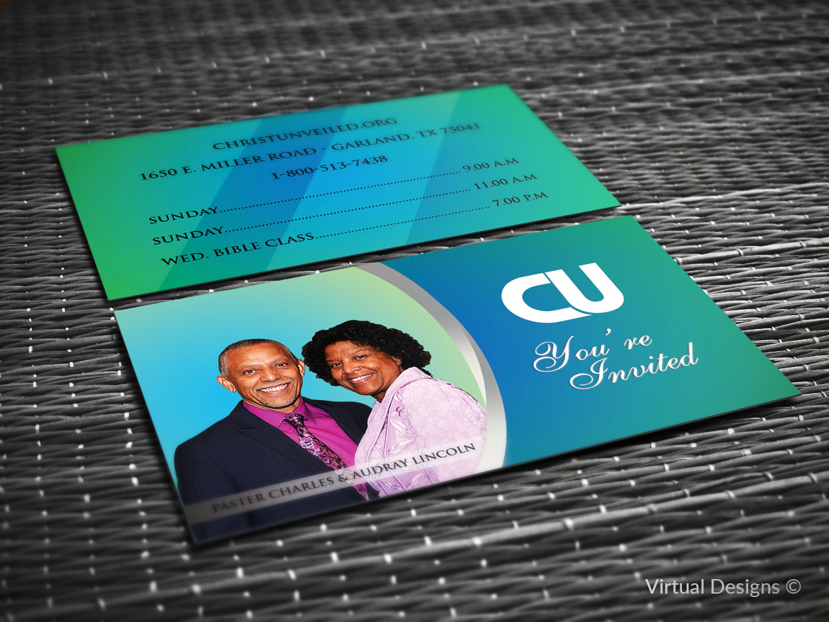 Bold Modern Non Profit Business Card Design For A Company In United States 8018321