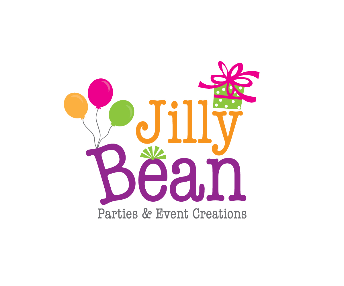 49 Colorful Bold Logo Designs for JillyBean Parties & Event ...