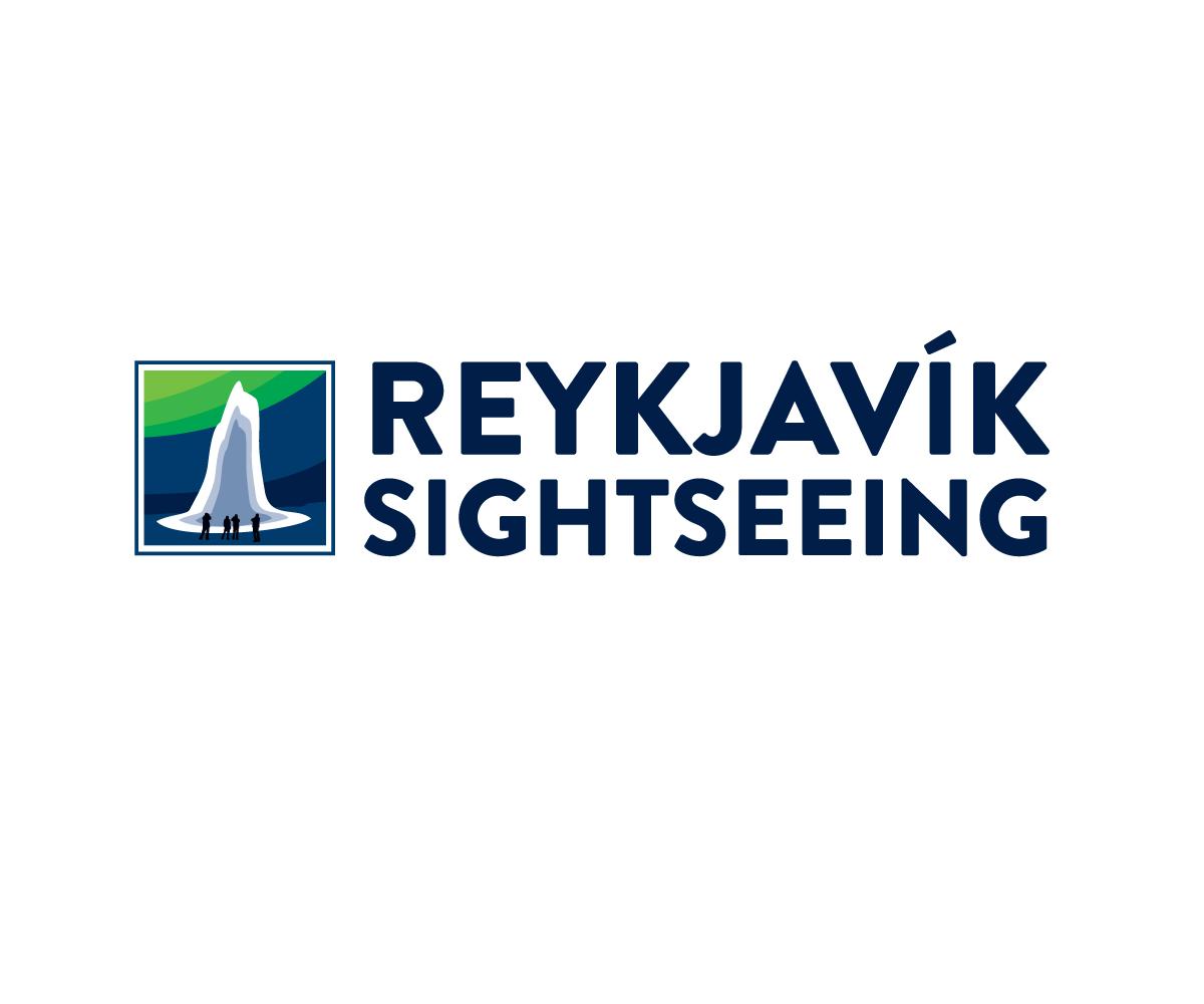 Iceland Reykjavik Sightseeing Logo by BuckTornado