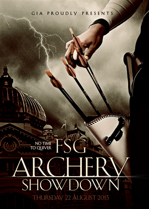 Poster Design by Mehmet Pala - Archery Corporate Team Event