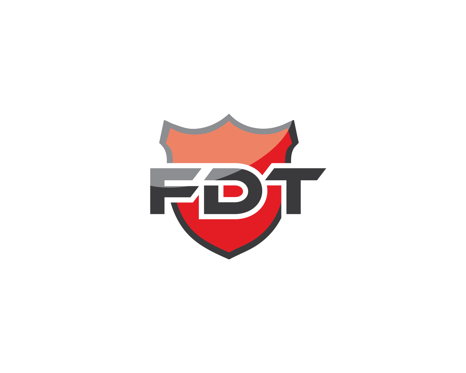 Serious modern security logo design for fdt by wizard of for Logo creation wizard