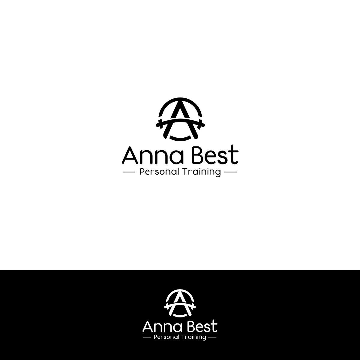 Modern Colorful Fitness Logo Design For Anna Best