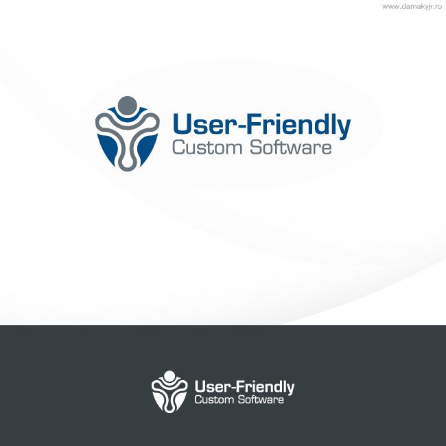 Moderno Upmarket Logo Design For User Friendly Custom Software Inc By Damaky Jr Design 400178