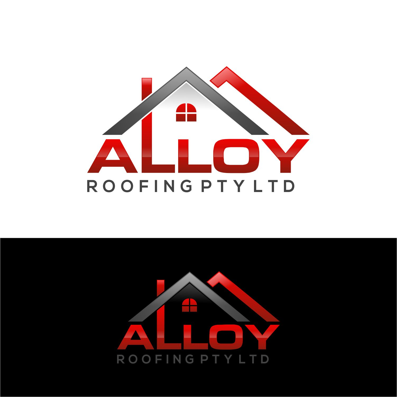 Bold Conservative Logo Design For Alloy Roofing Pty Ltd