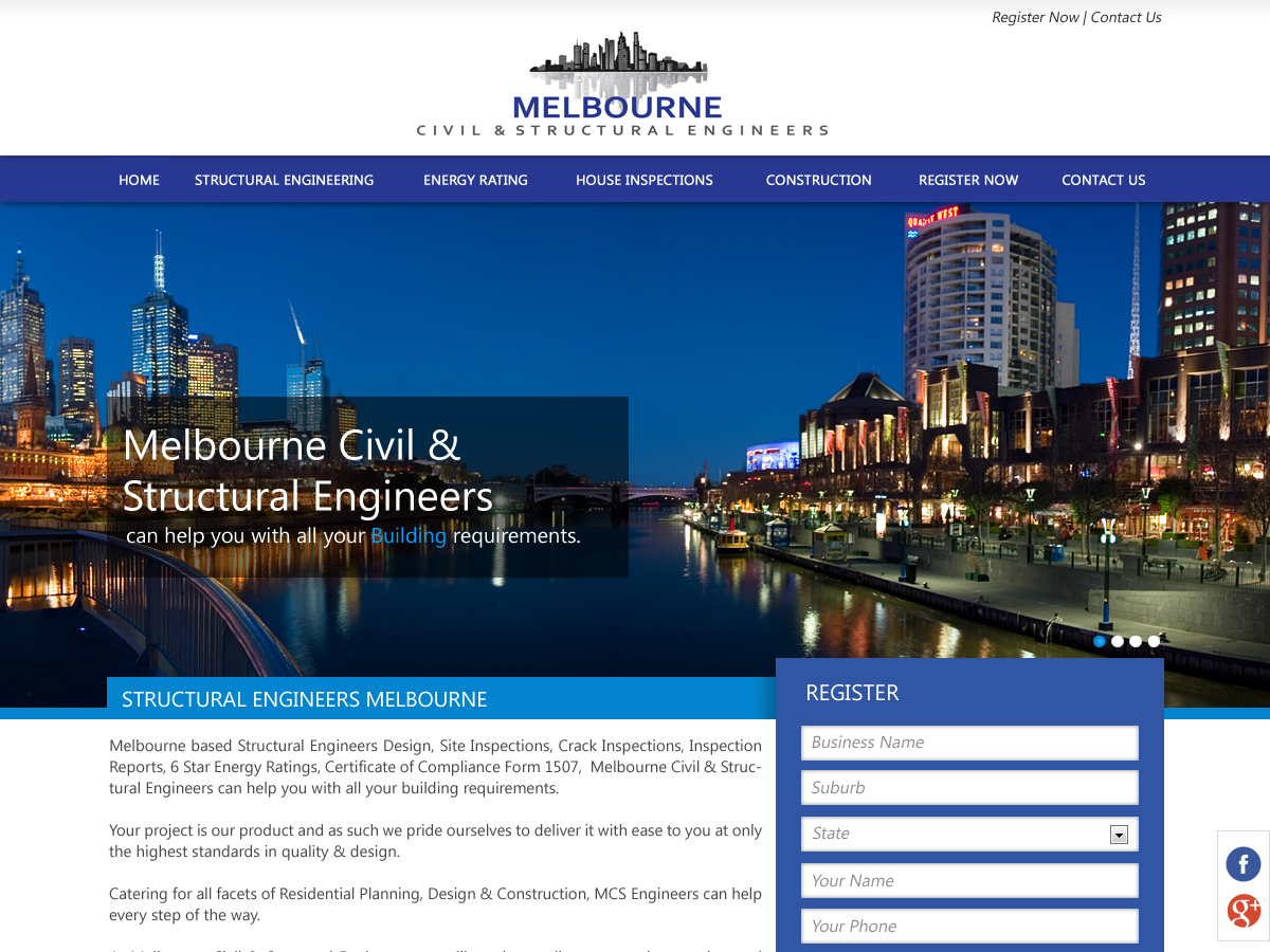Serious Professional Seeking Web Design For Melbourne Civil Structural Engineers By Designerkochi Design 1993715