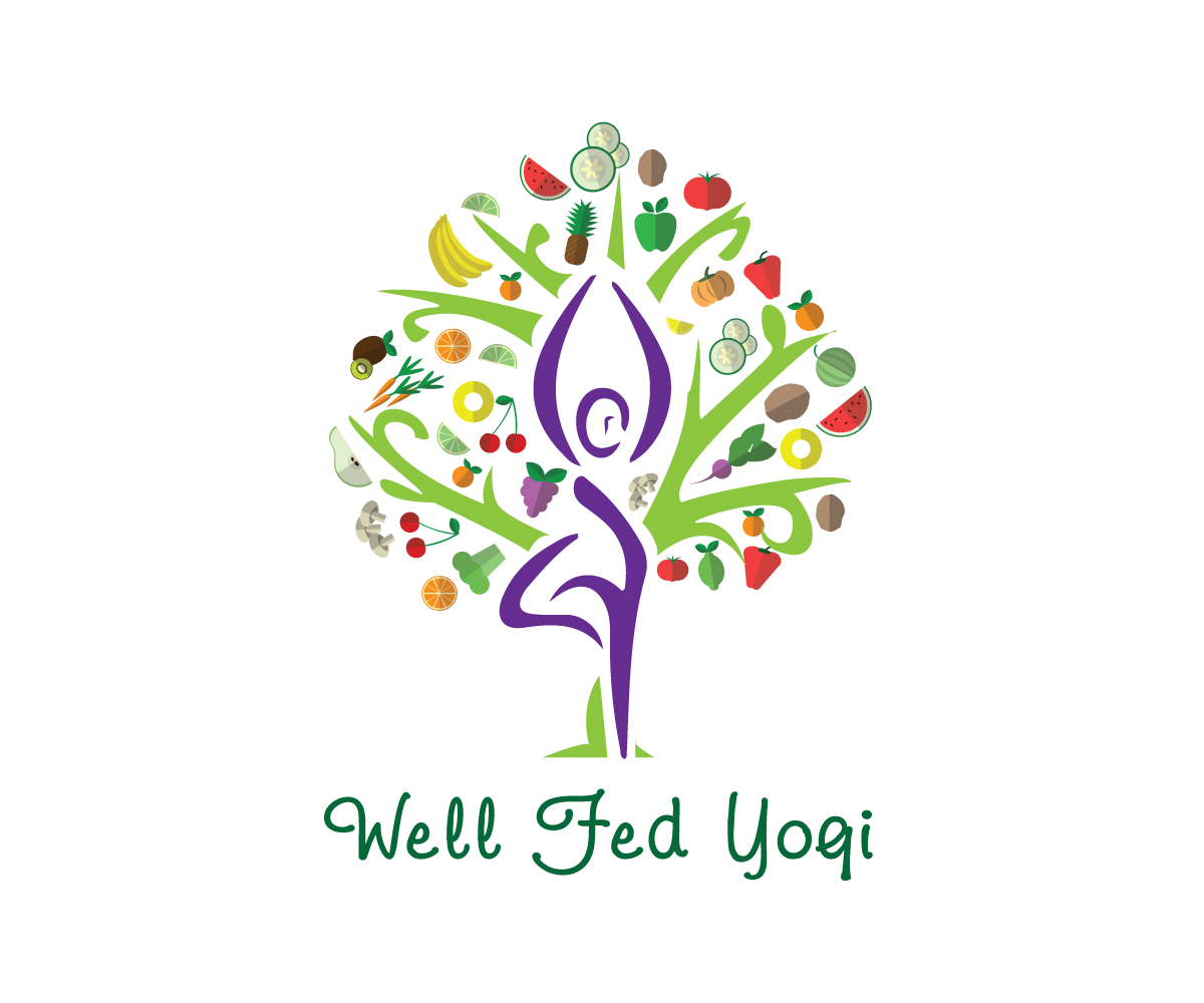 Elegant Playful Health Poster Design For A Company By: Playful, Feminine, Business Logo Design For Well Fed Yogi