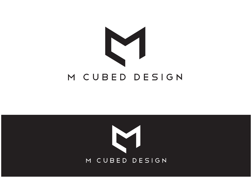 bold upmarket logo design for m cubed design by nigel b design 10073631. Black Bedroom Furniture Sets. Home Design Ideas