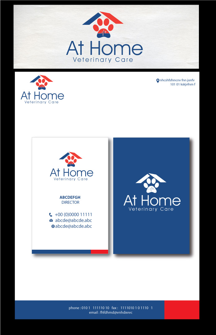 Serious professional logo design for at home veterinary for Professional home design 7 0