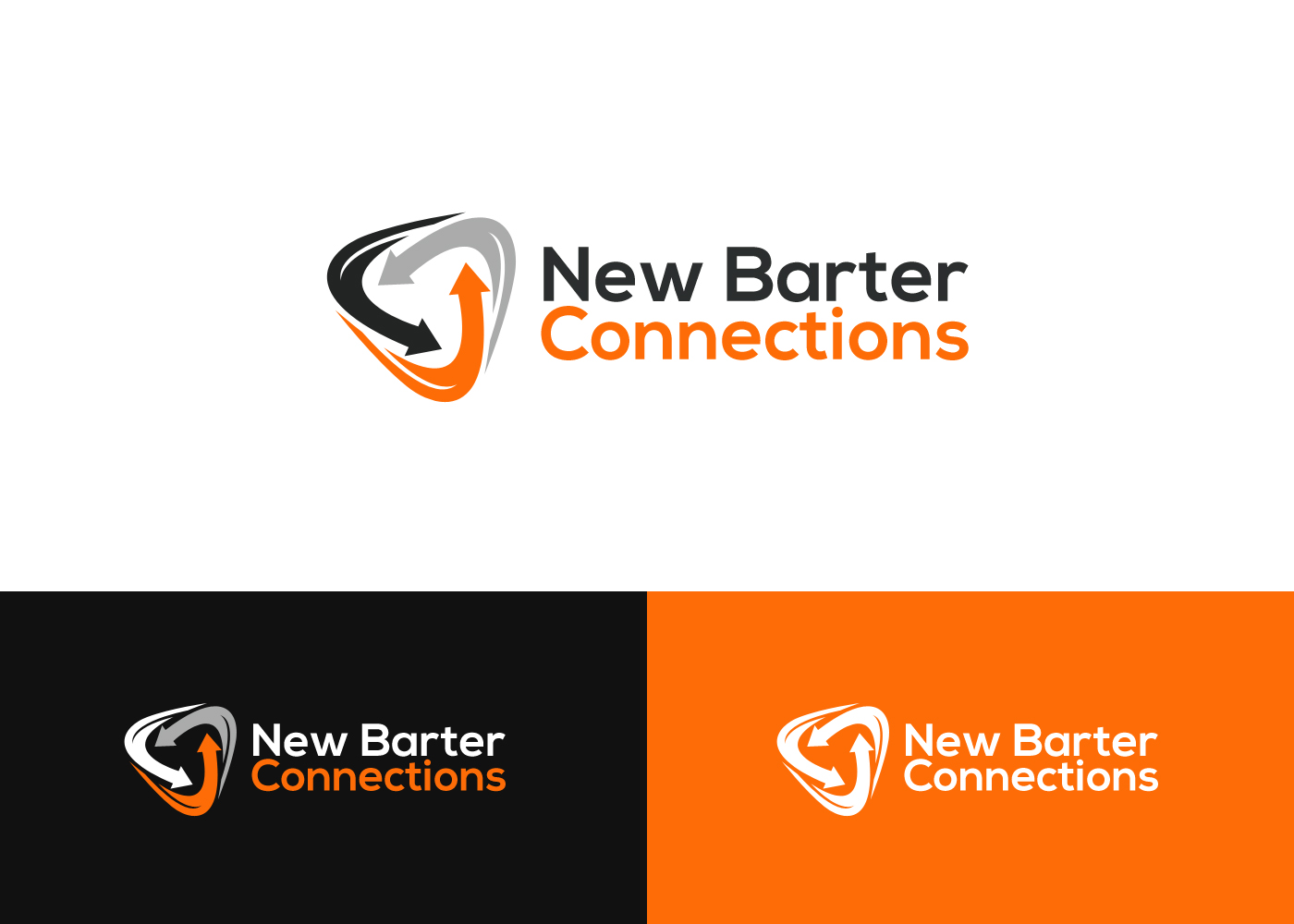 Serious Modern Logo Design For New Barter Connections