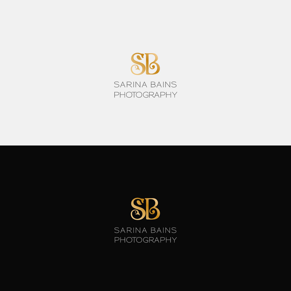 Photographer Logo Design for Sarina Bains Photography by Jobz ...