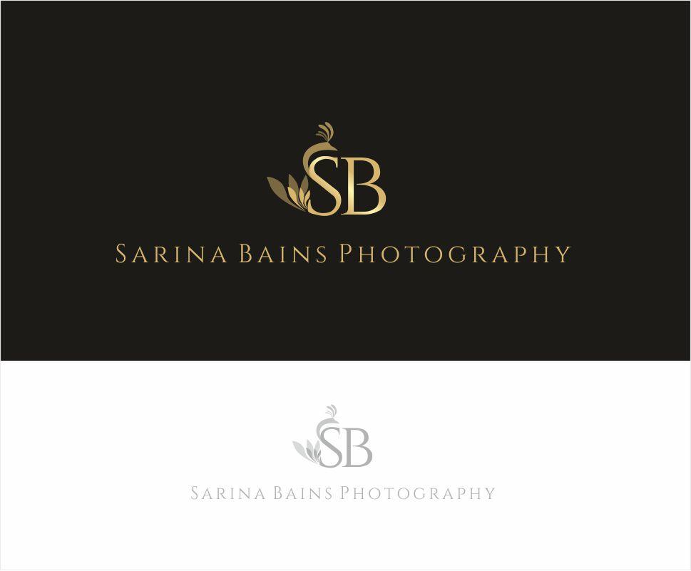 Photographer Logo Design for Sarina Bains Photography by alessandra ...