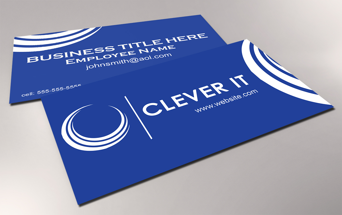 Elegant, Playful, Computer Business Card Design for Clever IT ...