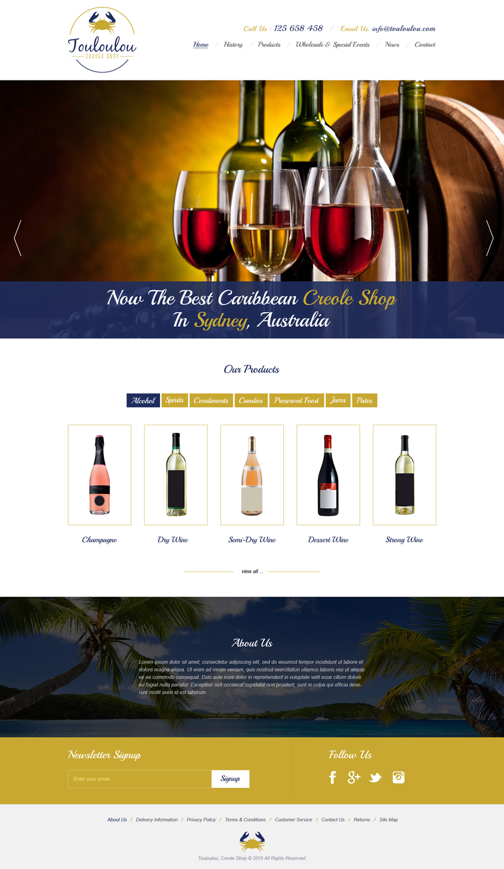 Professional Elegant Hospitality Web Design For