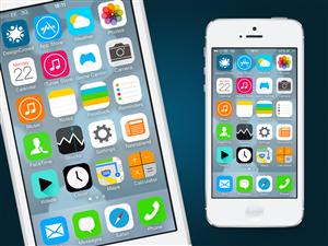 App Design by tapstudio - Re-design Apple iPhone's new iOS7 design!