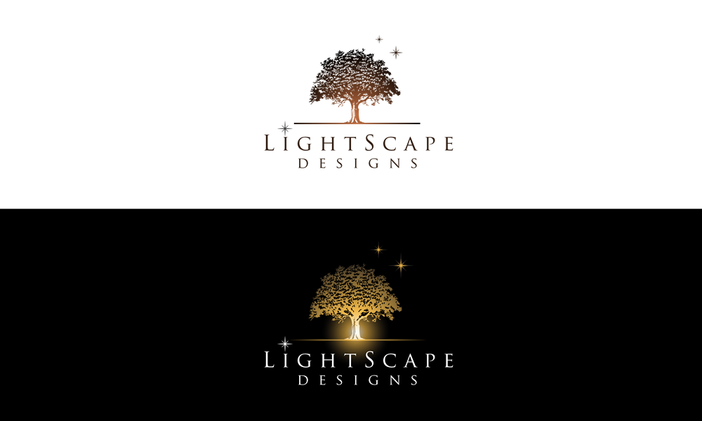 Outdoor Lighting Logo by inspiral
