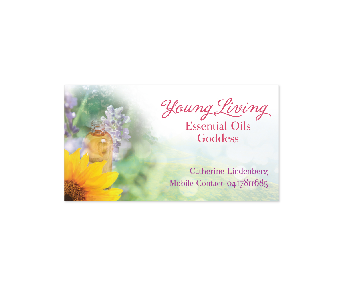 Business Card Design design for Catherine Lindenberg a