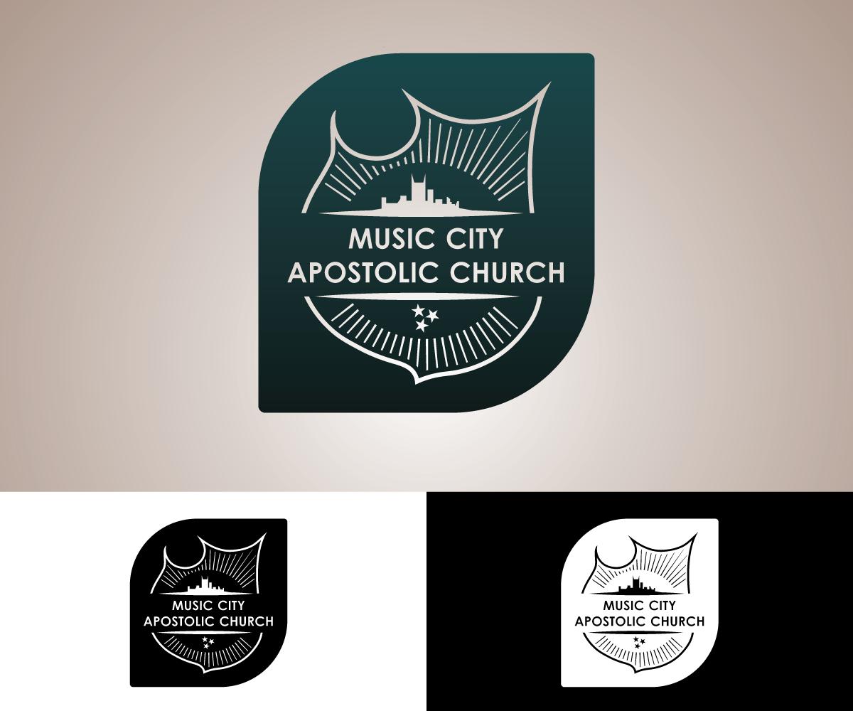 Modern, Professional, Church Logo Design for Music City Apostolic