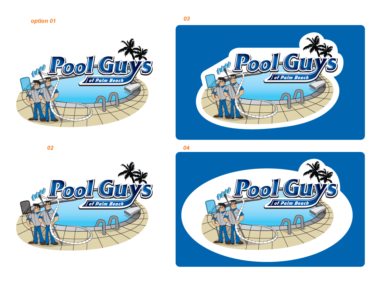 clear image pools logo. logo design by sushma for logo for ...