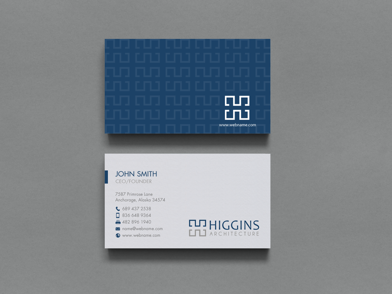 Serious, Feminine, Architecture Business Card Design for a Company ...