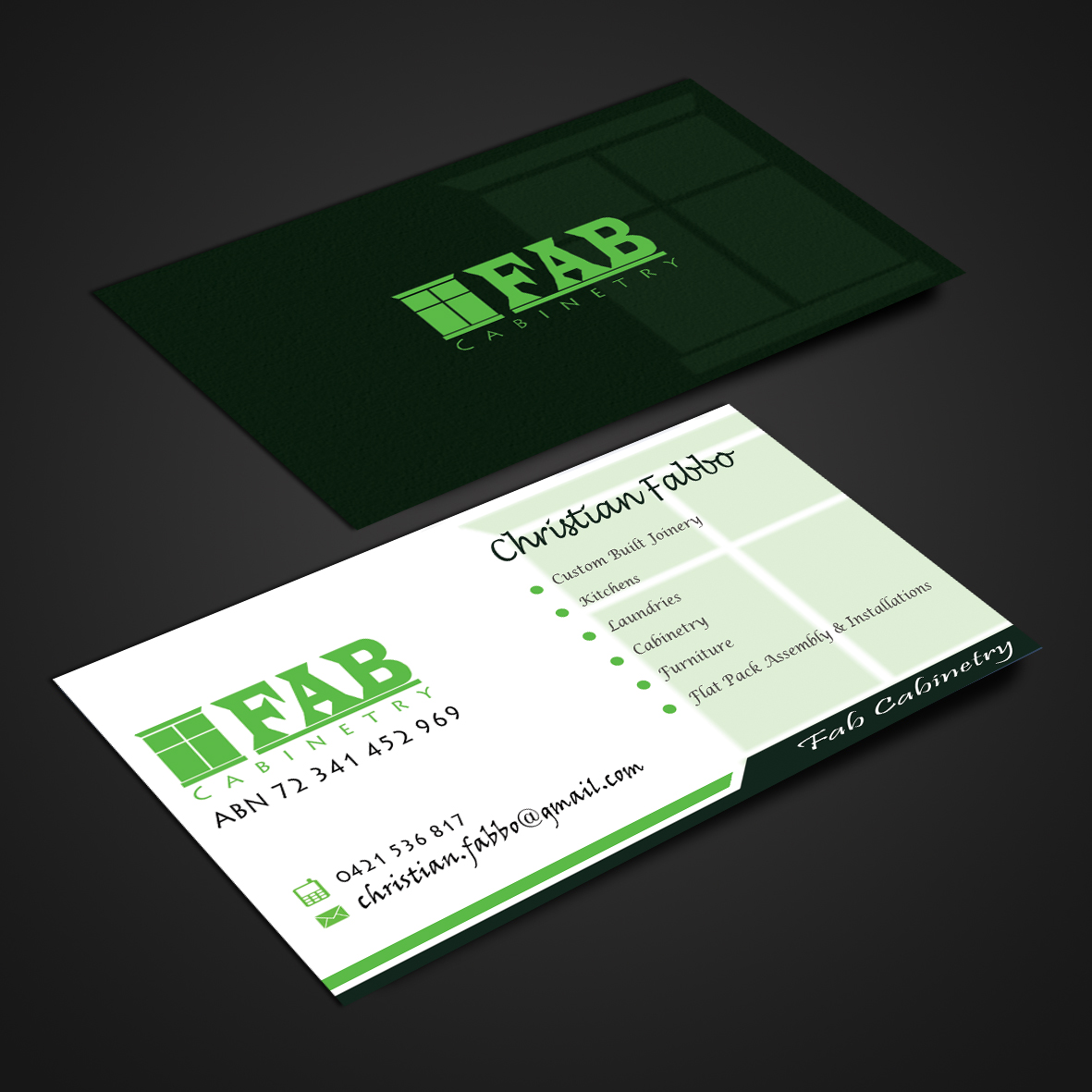 Elegant, Playful, Small Business Business Card Design for a Company ...