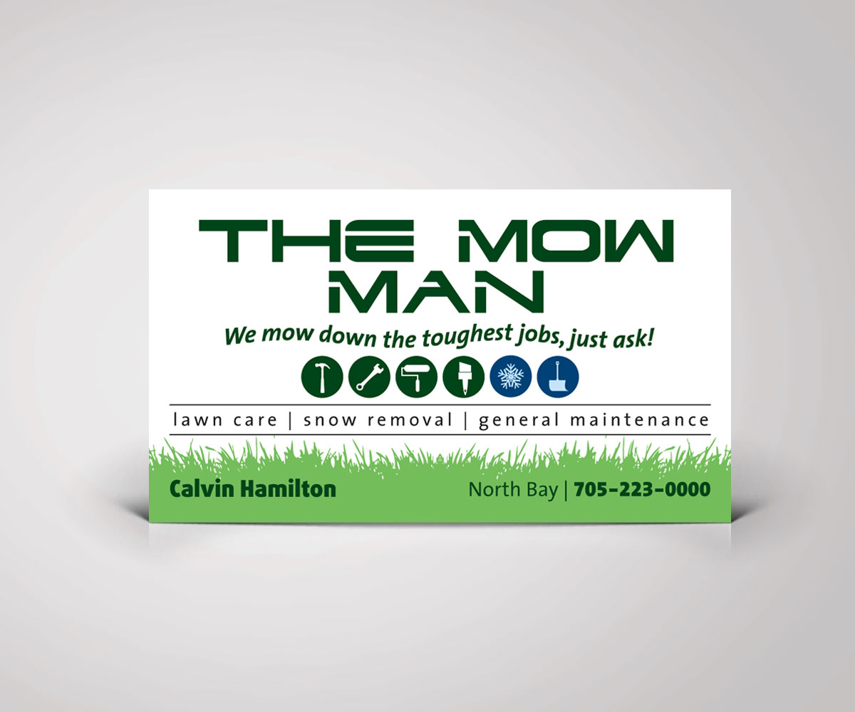Best 138 Landscaping Business Cards Images On Pinterest Of Garden ...