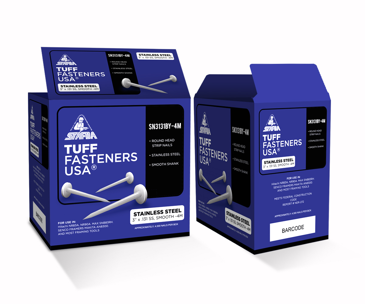 Professional masculine construction packaging design for for Industrial design packaging