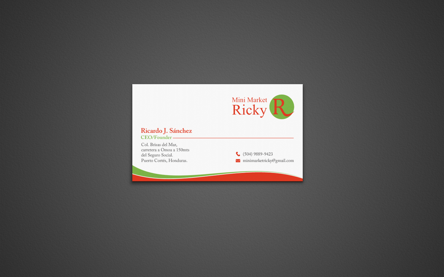 Upmarket serious business card design for mini market ricky by business card design by chandrayaaneative for mini market ricky business presentation cards design magicingreecefo Image collections
