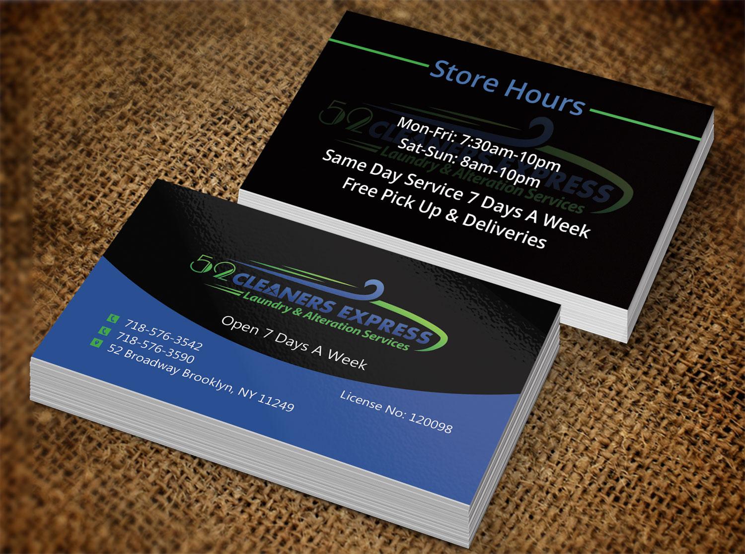 Elegant playful business business card design for micro express business card design by creation lanka for micro express consulting design 8429325 reheart Images