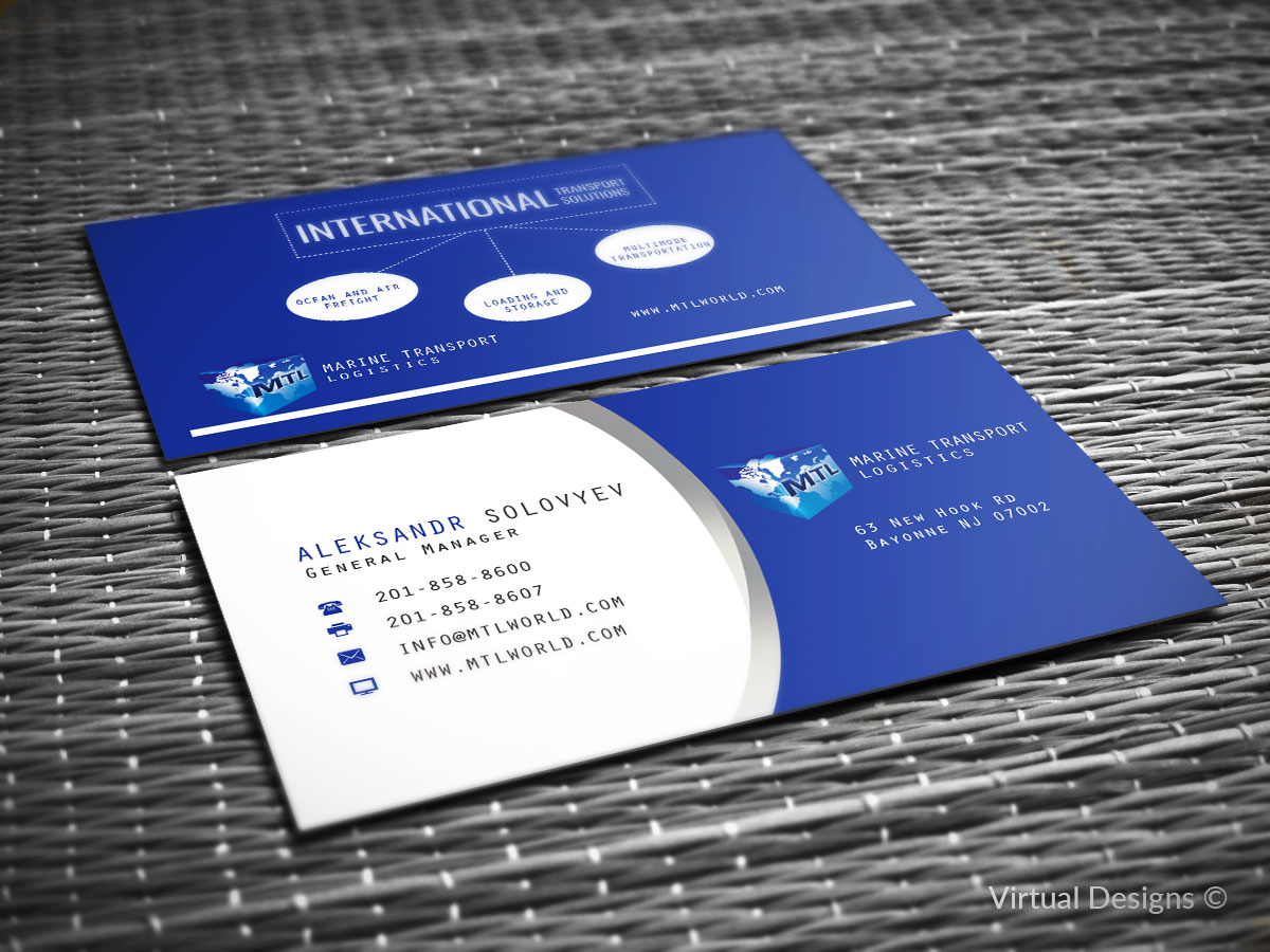 Elegant playful business business card design for micro express business card design by virtual designs for micro express consulting design 8417105 reheart Gallery