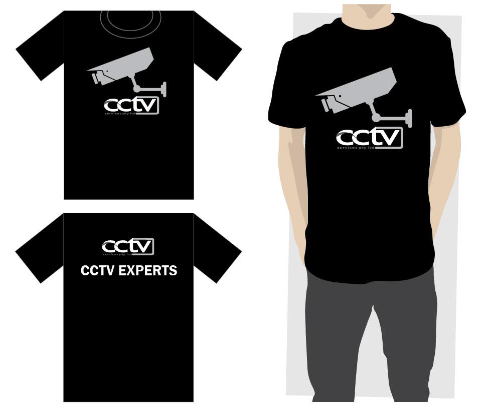 Design t shirt uniform - T Shirt Design By Reigedesign For Cctv Service Uniform Design Design 417557