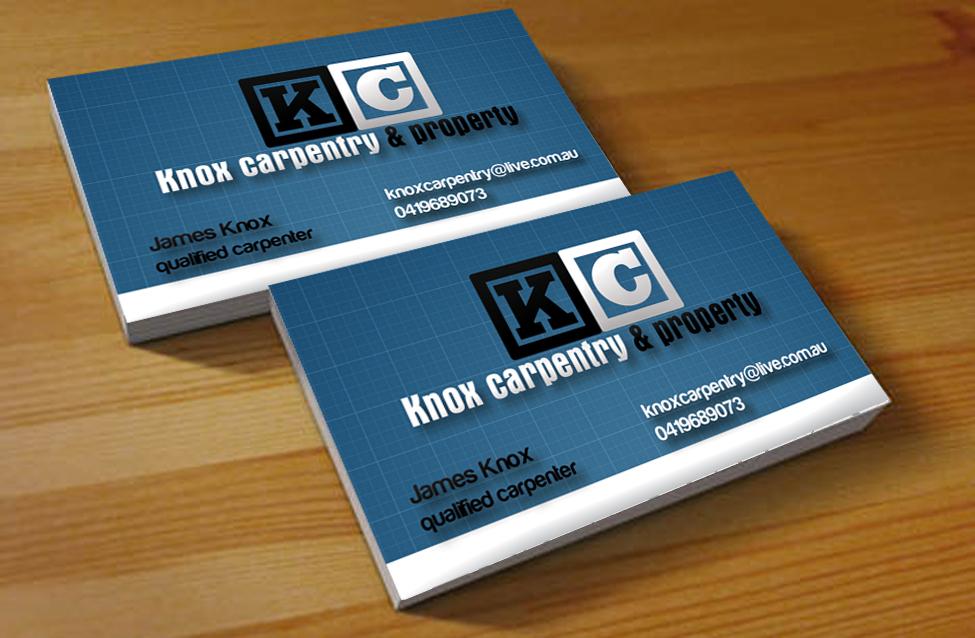 Property maintenance business card design for knox for Property maintenance business cards