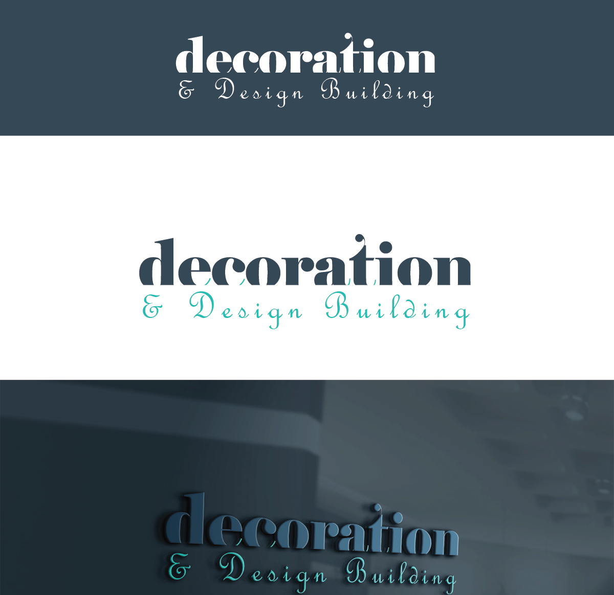 Modern professional building logo design for decoration for Professional building designer
