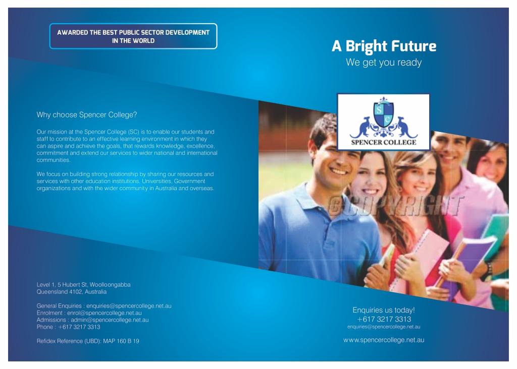 college flyer design
