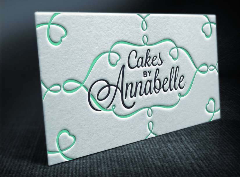 Elegant, Personable Business Card Design for Cakes By Annabelle by ...