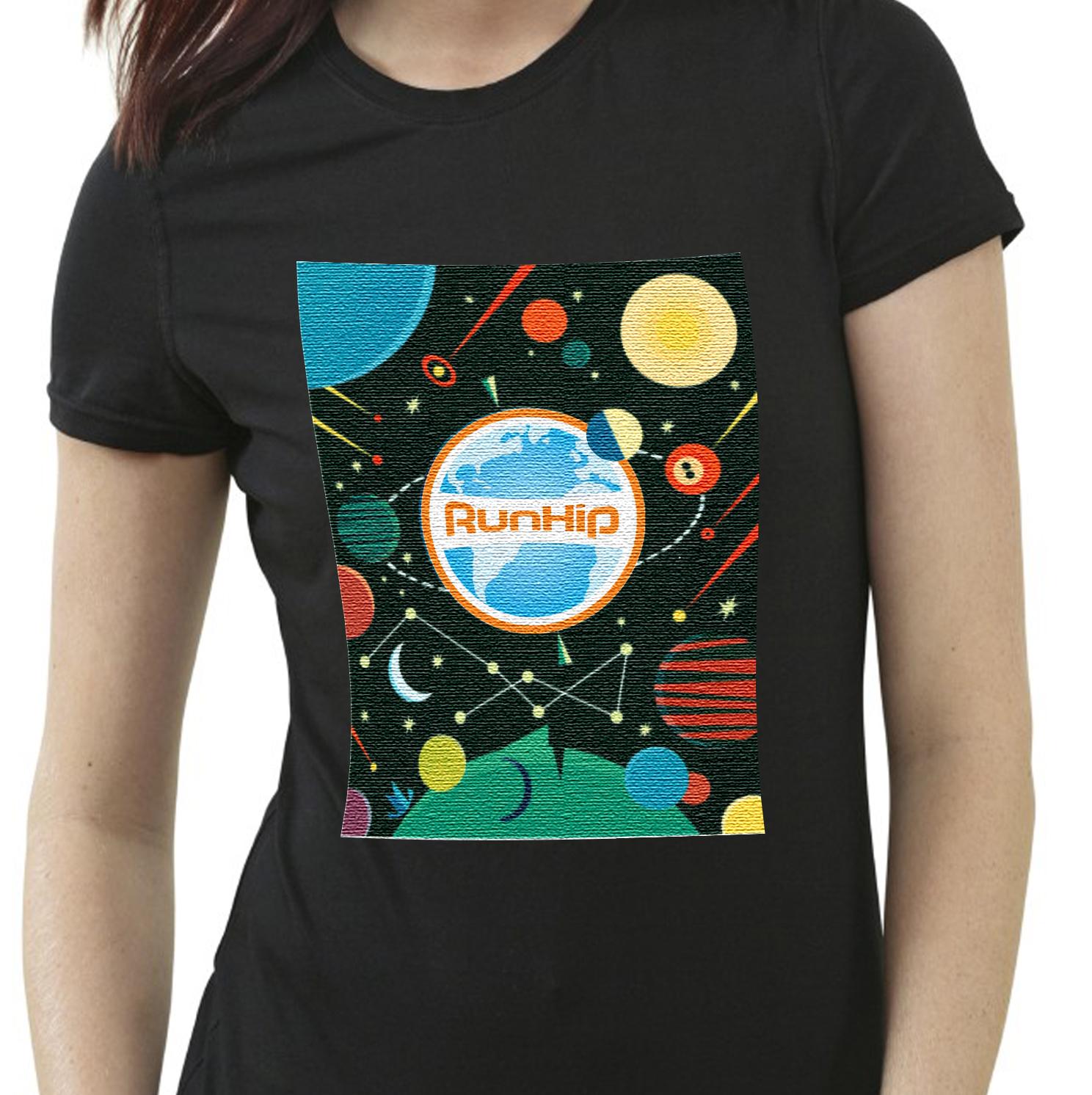 Modern Playful T Shirt Design For Ralph Harrington By