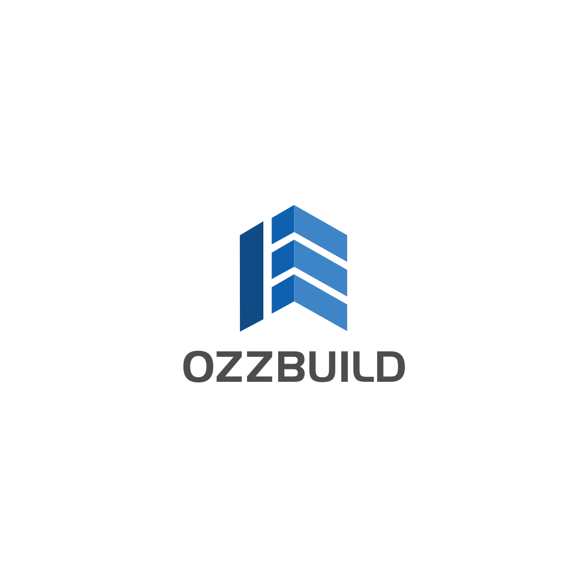 Serious modern logo design for ozzbuild by susanto83 Business logo design company