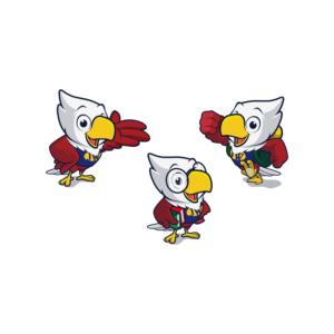 Text on the mascot: Joy World or JW   Mascot Design by abu_hilmi