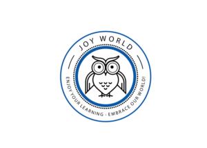 Text on the mascot: Joy World or JW   Mascot Design by Mandy Illustrator