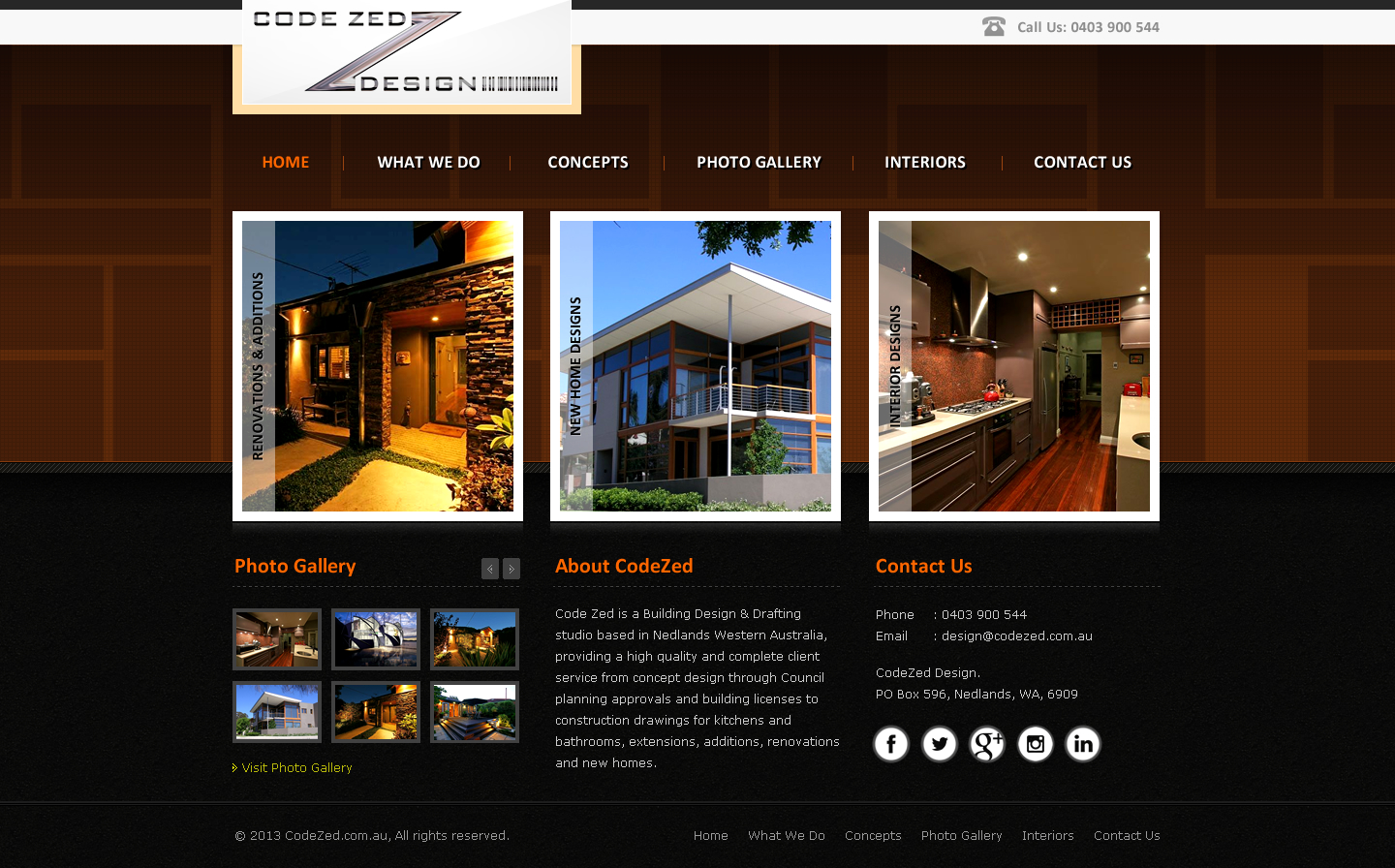 Elegant Upmarket Construction Web Design For Perth Web Hosting By Crazypixel Design 2158053