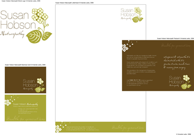 Refresh Club Stationery Design 14305