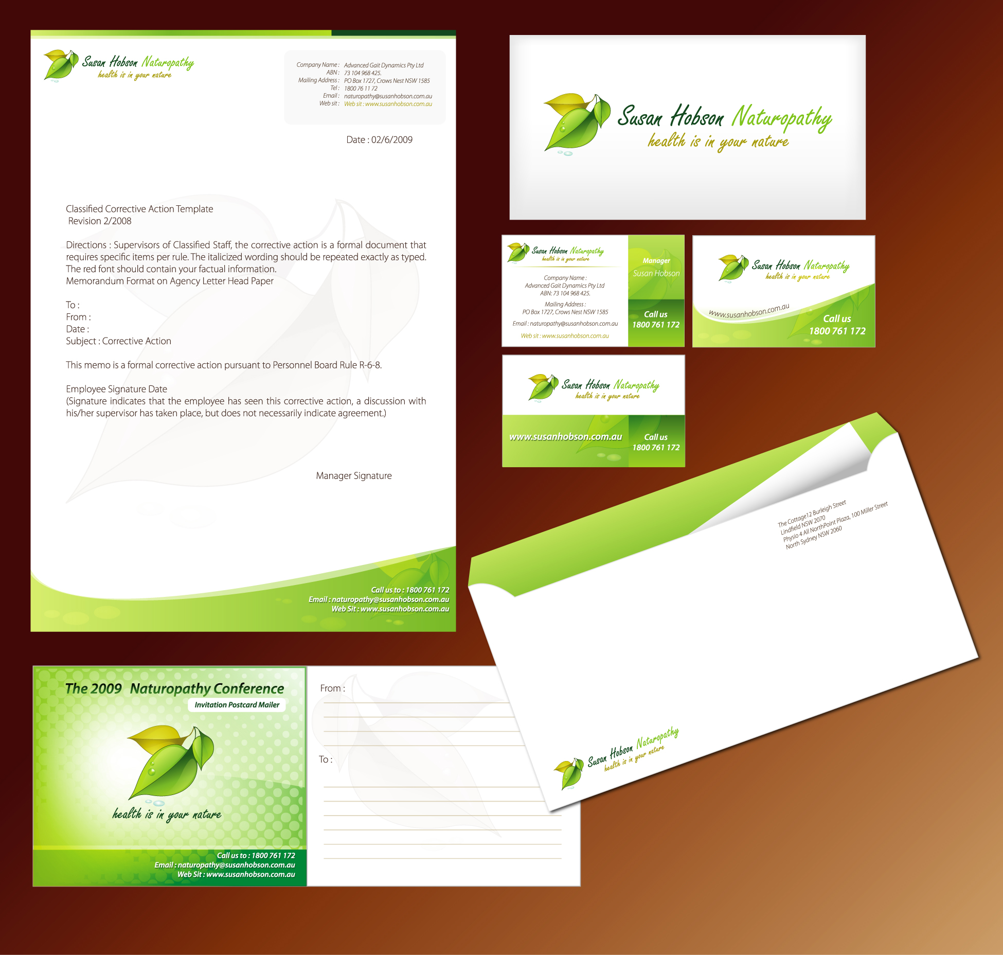 stationery design custom stationery design service