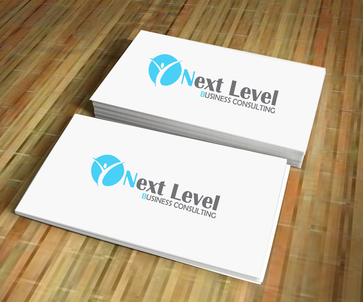 playful conservative business consultant logo design for next level business consulting by. Black Bedroom Furniture Sets. Home Design Ideas