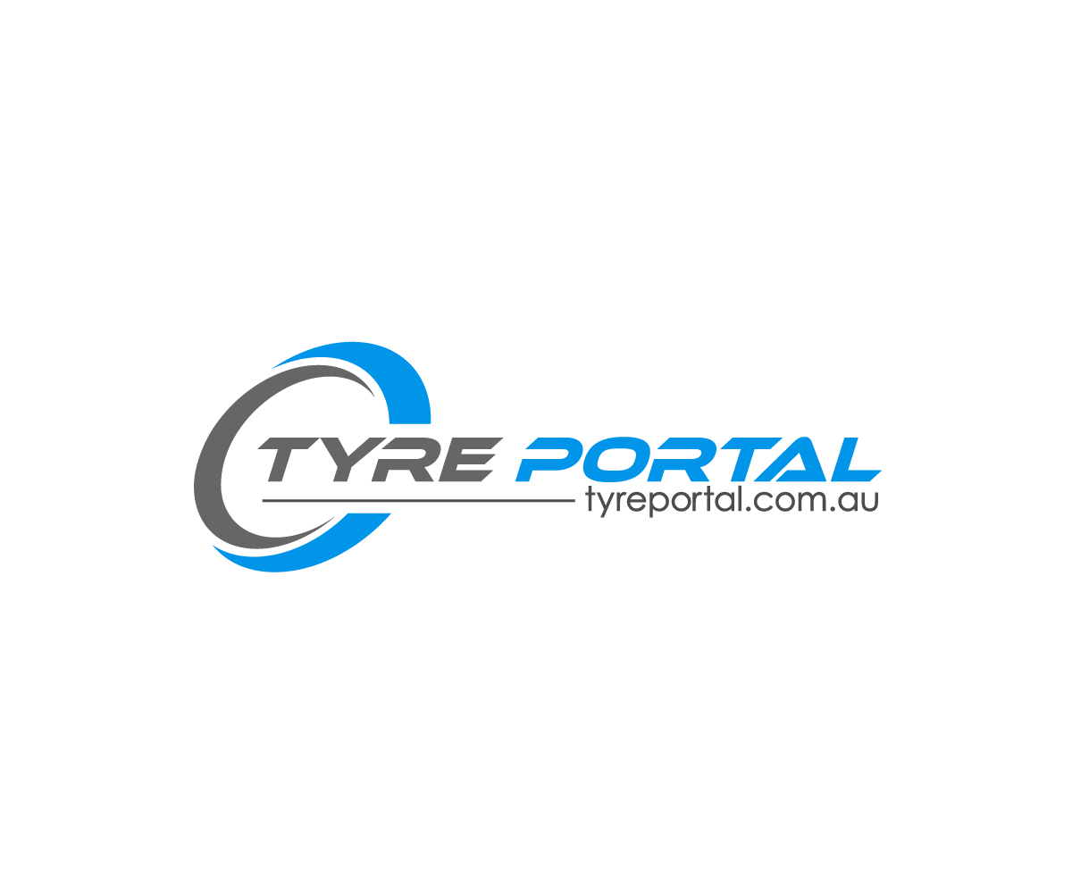 Professional elegant logo design for tyreportal by zen56 for Design company