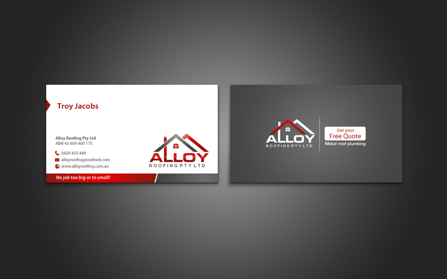 Business cards roofing design arts arts business cards roofing design arts colourmoves