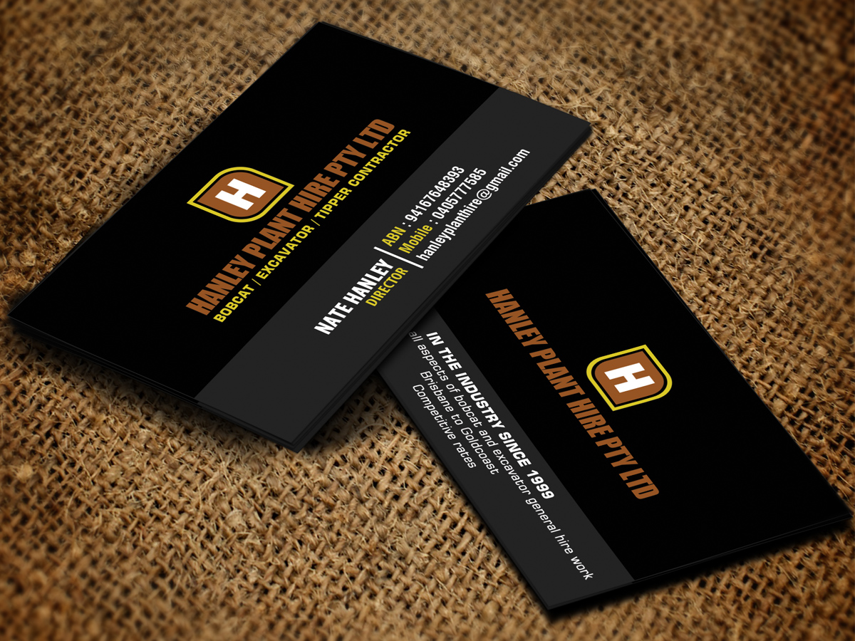 96 business card designs contractor business card design project business card design by sandaruwan for this project design 8493099 colourmoves
